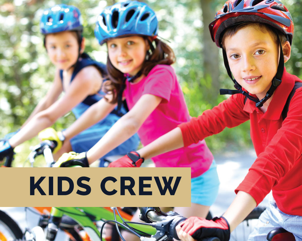New activites at the Kids Crew